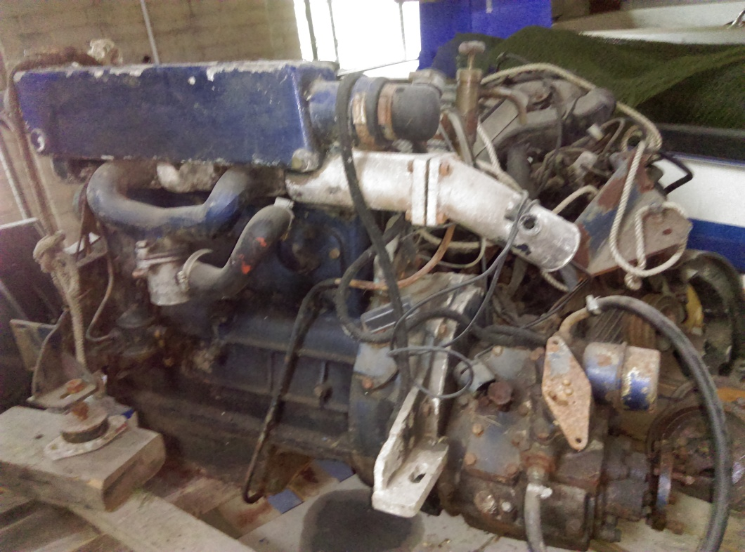 BMC 2 2 diesel Marine boat engine with gear box complete